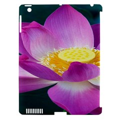 Pink Lotus Flower Apple iPad 3/4 Hardshell Case (Compatible with Smart Cover)