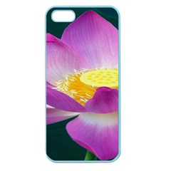 Pink Lotus Flower Apple Seamless Iphone 5 Case (color)
