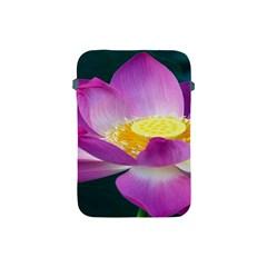 Pink Lotus Flower Apple Ipad Mini Protective Soft Cases