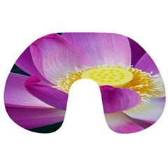 Pink Lotus Flower Travel Neck Pillows