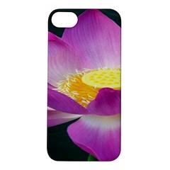 Pink Lotus Flower Apple iPhone 5S/ SE Hardshell Case