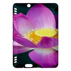 Pink Lotus Flower Kindle Fire Hdx Hardshell Case
