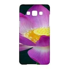 Pink Lotus Flower Samsung Galaxy A5 Hardshell Case