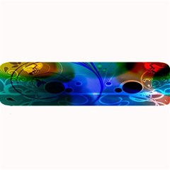 Abstract Color Plants Large Bar Mats