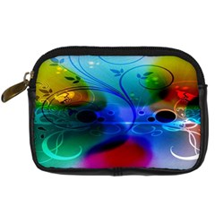 Abstract Color Plants Digital Camera Cases