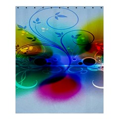 Abstract Color Plants Shower Curtain 60  x 72  (Medium)