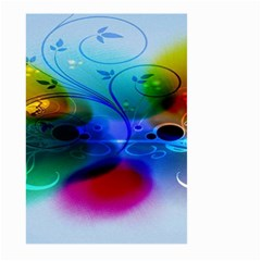Abstract Color Plants Large Garden Flag (Two Sides)