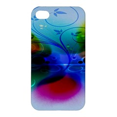 Abstract Color Plants Apple iPhone 4/4S Premium Hardshell Case