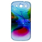 Abstract Color Plants Samsung Galaxy S3 S III Classic Hardshell Back Case Front