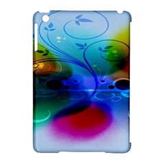 Abstract Color Plants Apple Ipad Mini Hardshell Case (compatible With Smart Cover)