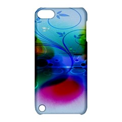 Abstract Color Plants Apple iPod Touch 5 Hardshell Case with Stand