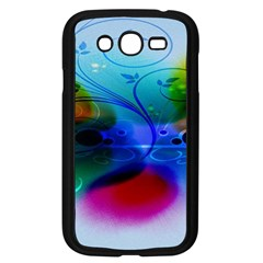 Abstract Color Plants Samsung Galaxy Grand DUOS I9082 Case (Black)