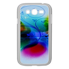 Abstract Color Plants Samsung Galaxy Grand DUOS I9082 Case (White)