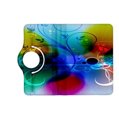 Abstract Color Plants Kindle Fire HD (2013) Flip 360 Case