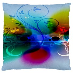 Abstract Color Plants Standard Flano Cushion Case (Two Sides)