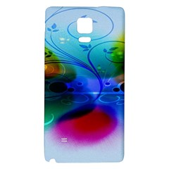 Abstract Color Plants Galaxy Note 4 Back Case
