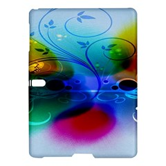 Abstract Color Plants Samsung Galaxy Tab S (10.5 ) Hardshell Case