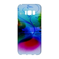 Abstract Color Plants Samsung Galaxy S8 Hardshell Case