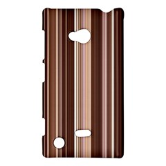 Brown Vertical Stripes Nokia Lumia 720