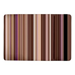 Brown Vertical Stripes Samsung Galaxy Tab Pro 10 1  Flip Case