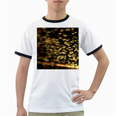 Blurry Sparks Ringer T Shirts