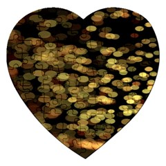 Blurry Sparks Jigsaw Puzzle (Heart)