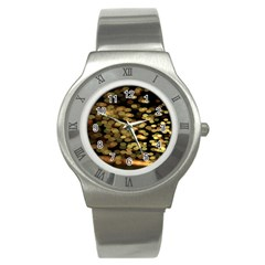 Blurry Sparks Stainless Steel Watch