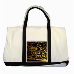 Blurry Sparks Two Tone Tote Bag
