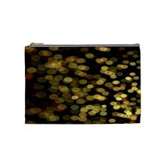 Blurry Sparks Cosmetic Bag (medium)