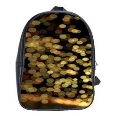 Blurry Sparks School Bags(Large)