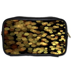 Blurry Sparks Toiletries Bags 2 Side