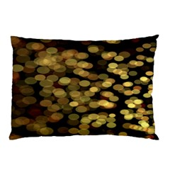 Blurry Sparks Pillow Case (Two Sides)