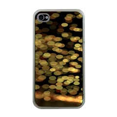 Blurry Sparks Apple Iphone 4 Case (clear)