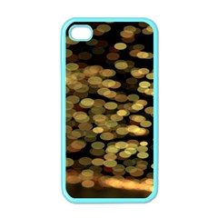 Blurry Sparks Apple Iphone 4 Case (color)