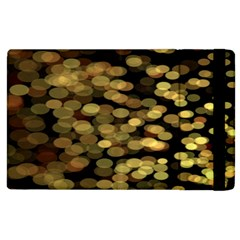Blurry Sparks Apple iPad 3/4 Flip Case