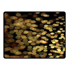 Blurry Sparks Double Sided Fleece Blanket (Small)