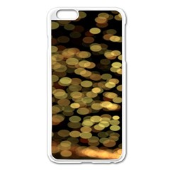 Blurry Sparks Apple iPhone 6 Plus/6S Plus Enamel White Case