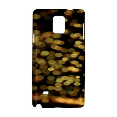 Blurry Sparks Samsung Galaxy Note 4 Hardshell Case