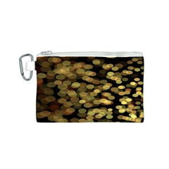 Blurry Sparks Canvas Cosmetic Bag (s)