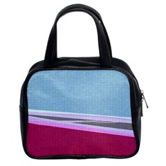 Cracked Tile Classic Handbags (2 Sides)