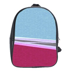 Cracked Tile School Bags(large)