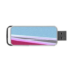 Cracked Tile Portable USB Flash (One Side)