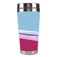 Cracked Tile Stainless Steel Travel Tumblers