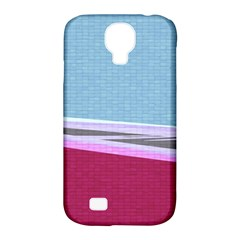 Cracked Tile Samsung Galaxy S4 Classic Hardshell Case (pc+silicone)