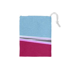 Cracked Tile Drawstring Pouches (Small)
