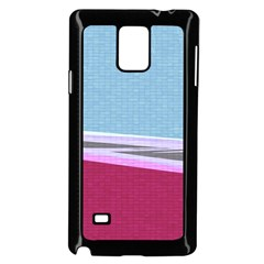 Cracked Tile Samsung Galaxy Note 4 Case (black)