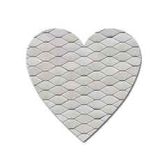 Roof Texture Heart Magnet
