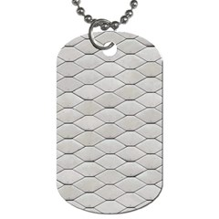 Roof Texture Dog Tag (two Sides)