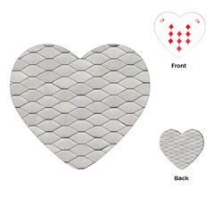 Roof Texture Playing Cards (Heart)