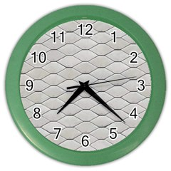 Roof Texture Color Wall Clocks